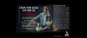 I RUN FOR SOSD – 50 FOR 50