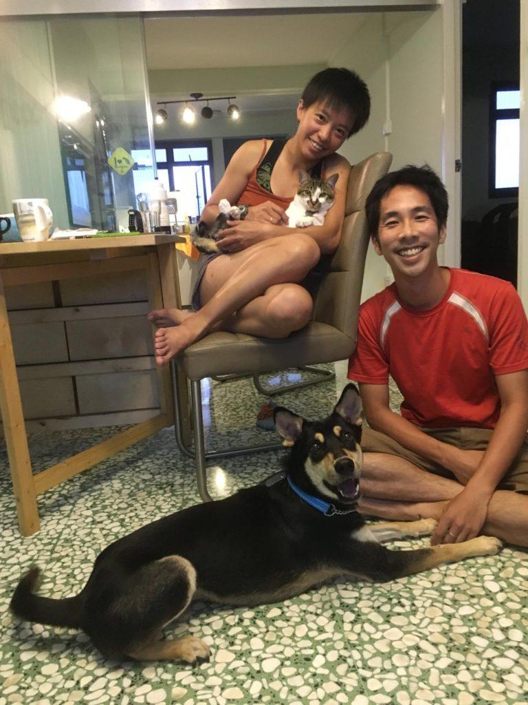Nicole and Robin, Raffi's adopters