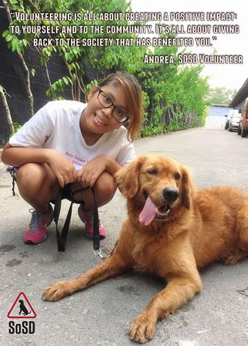 Andrea SOSD Volunteer