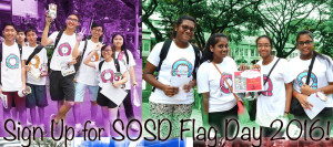 Sign Up for SOSD Flag Day 2016
