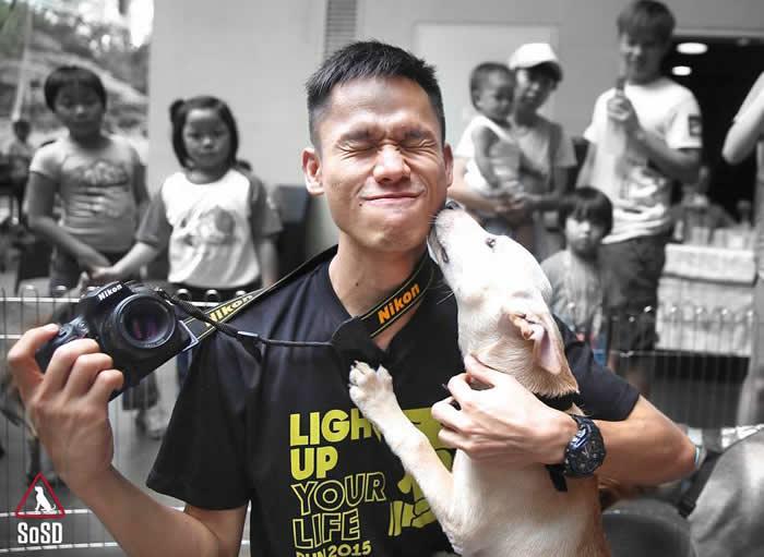 An avid photographer Wen Jye