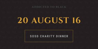 SOSD Charity Dinner 2016
