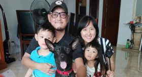 Jeff, Bravery's adopter