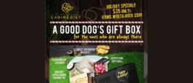 A Good Dog's Gift Box 181218 Banner