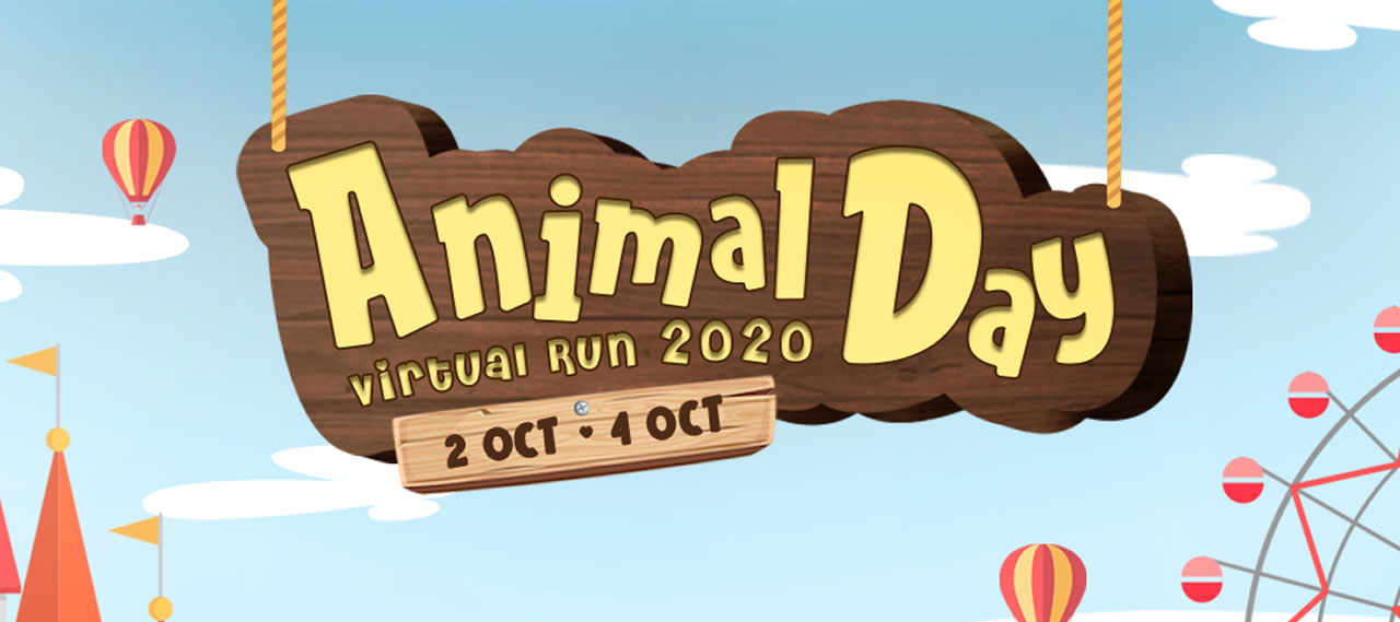 Animal Day Virtual Run 2020 for SOSD Banner